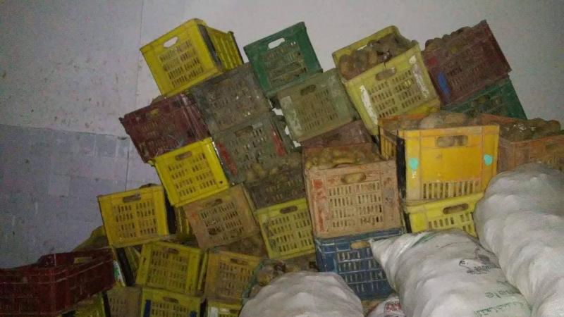 الزهروني: حجز 5 أطنان من البطاطا في مخزن عشوائي