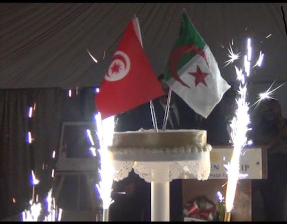 (بالصور) أجواء الاحتفال بالذكرى الـ65 للثورة الجزائرية في تونس...