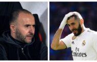 جمال بلماضي ينهي الجدل المتعلق بإمكانية انضمام بنزيما إلى المنتخب الجزائري