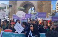 بالفيديو: ناشطات من المجتمع المدني ينددن بالعنف المسلط ضد المرأة