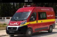 إصابة أعوان حماية مدنية بحروق بليغة خلال اطفاء سيارة بنزين مهرب