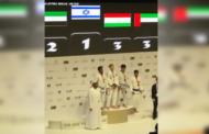 النشيد الوطني للكيان الصهيوني يعزف من جديد في أبو ظبي!!