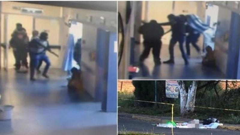 (فيديو)على طريقة الأفلام: عصابة مسلحة تخطف رجلا من المستشفى وتقطّعه