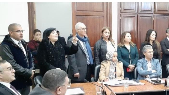(في اشغال اللجنة الوقتية):  مشادات كلامية وتبادل للاتهامات بين النهضة والدستوري الحر