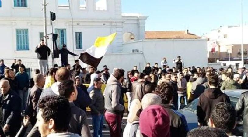 بنزرت: إيقافات وإصابات خلال الاحتجاجات