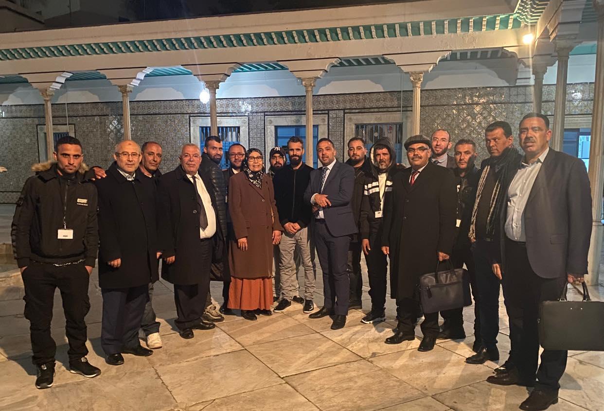 """تنسيقية اعتصام """"الكامور"""" تنشر تعهدا من 4 كتل برلمانية"""
