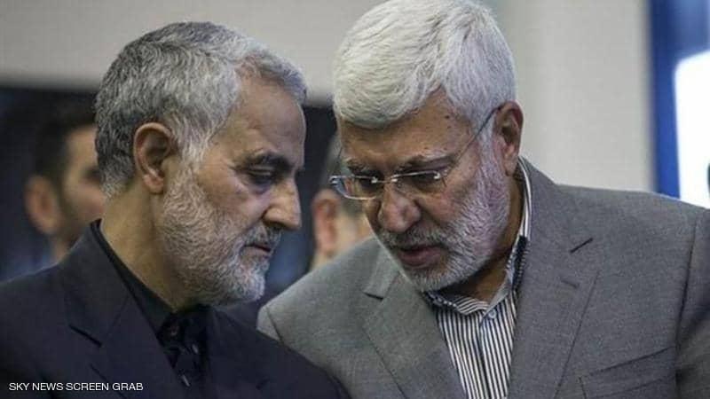 اغتيال قاسم سليماني ونائب قائد الحشد الشعبي بقصف صاروخي