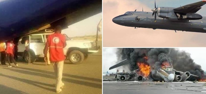 مقتل 18 في تحطم طائرة عسكرية بالسودان