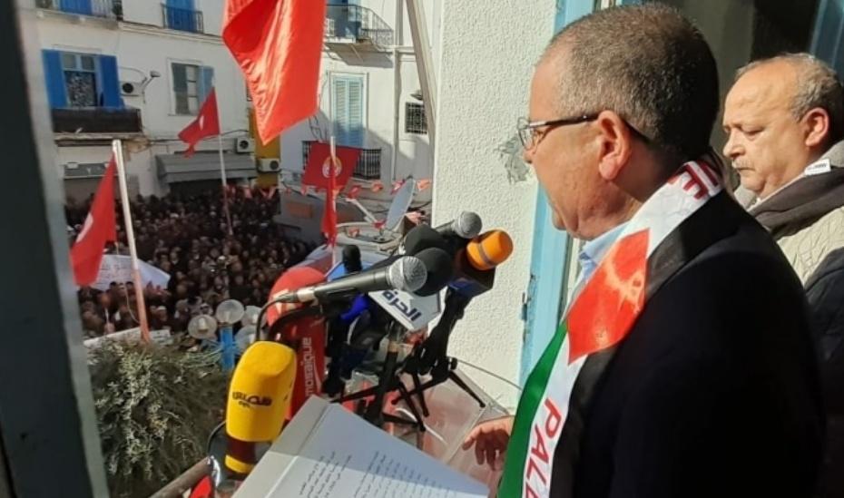 الطبوبي:  بعد 9 سنوات من الثورة..مشهد سياسي متعفن ودولة ضعيفة.. ولن نصمت مستقبلا..