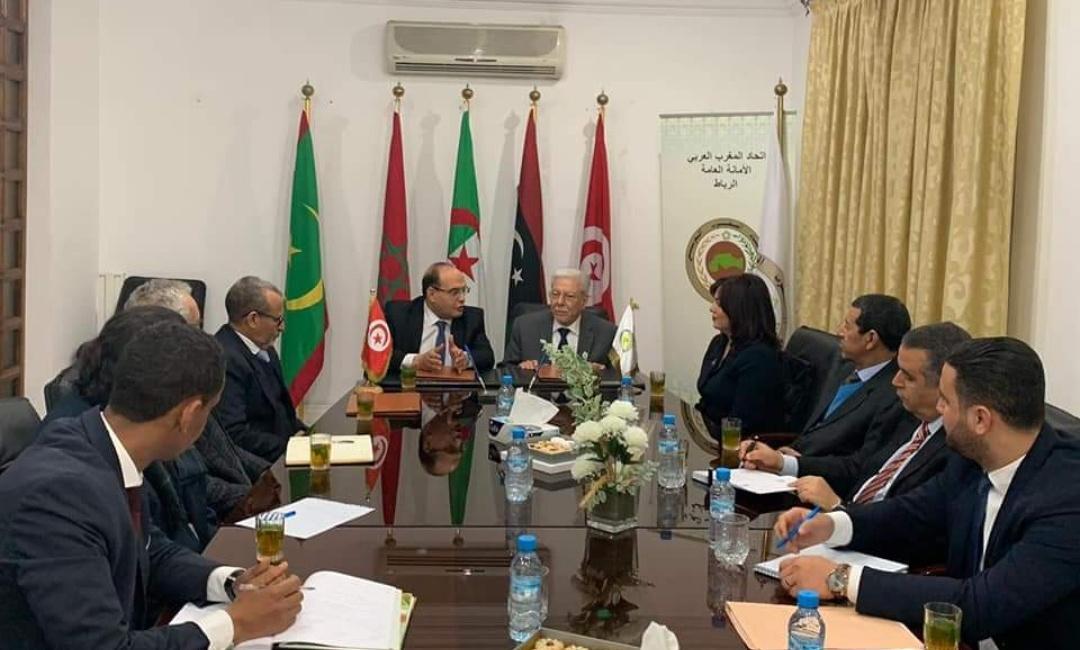 توقيع اتفاقية تعاون بين هيئة مكافحة الفساد والأمانة العامة لاتحاد المغرب العربي