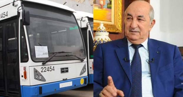 اعتبرها عنوانا للتبذير:الرئيس الجزائري يمنع المواكب الرسمية ويجبر الوزراء على استعمال الحافلات
