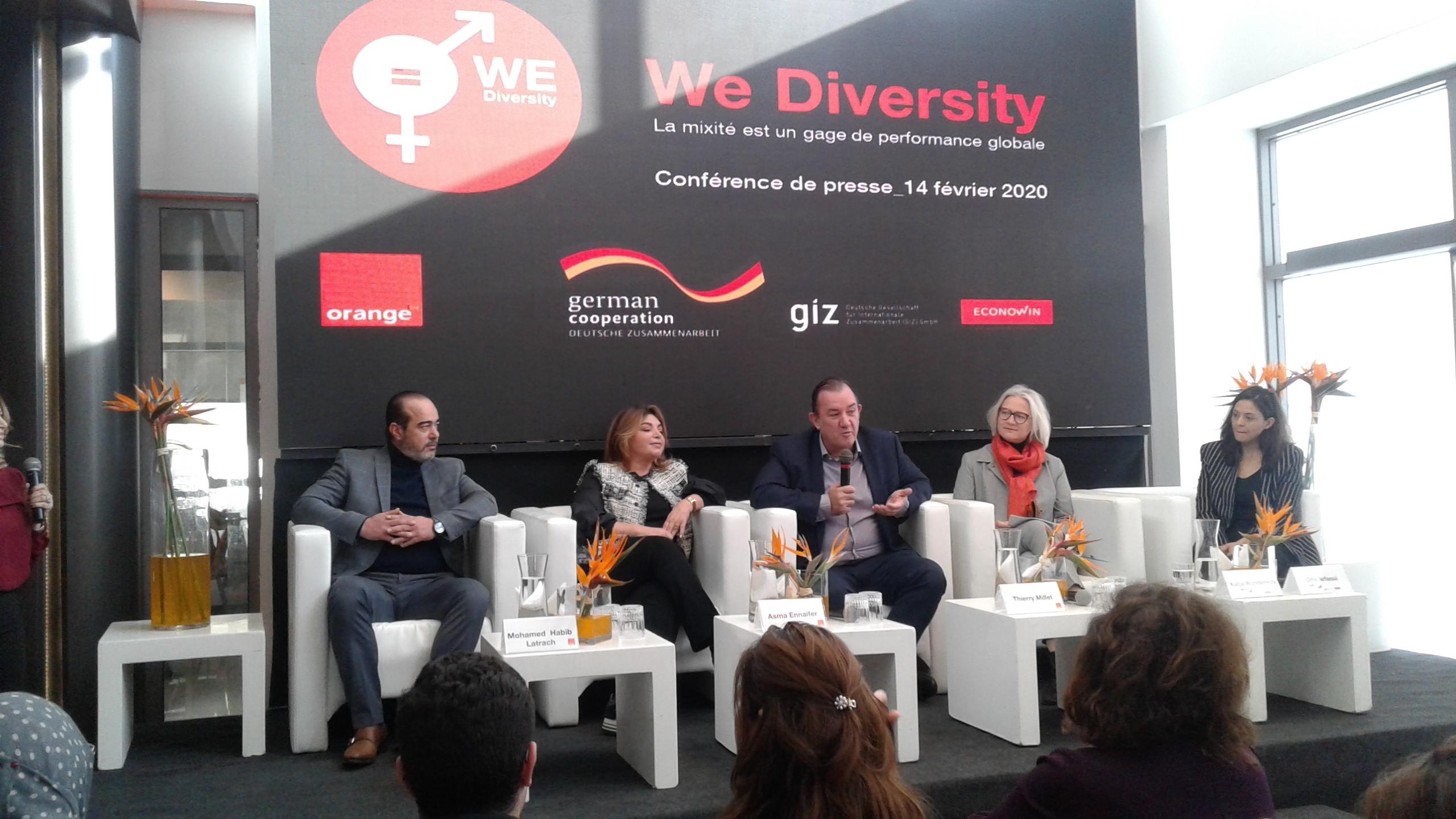 بالتعاون مع الوكالة الألمانية للتعاون الدولي: أورونج تونس تعرض نتائج برنامج We Divesity
