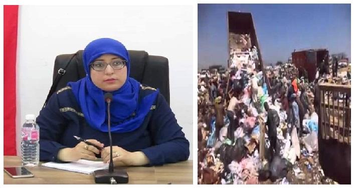 كارثه في الطريق: مصب سيدي حسين في طريق الاغلاق دون وجود البديل!!