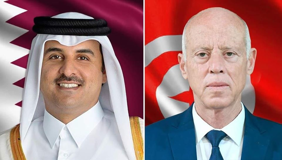 بدعوة من قيس سعيد: أمير قطر في زيارة رسمية الى تونس