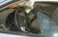 الرقاب: مهربون يحاولون قتل رئيس فرقة الحرس الديواني ويهشمون سيارته