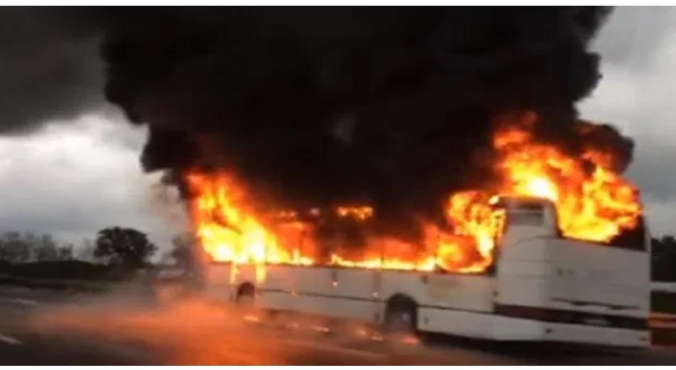 غار الملح: حرق حافلة تابعة للشركة الجهوية للنقل ببنزرت