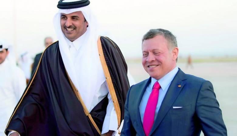 لبحث التطورات في المنطقة: أمير قطر يزور الأردن!!