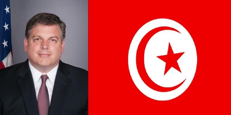 السفير الأمريكي يشيد بتعامل السلطات التونسية مع العملية الإرهابية بالبحيرة