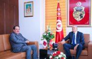 وزير تكنولوجيات الاتصال والانتقال الرقمي يستقبل سفير قطر بتونس