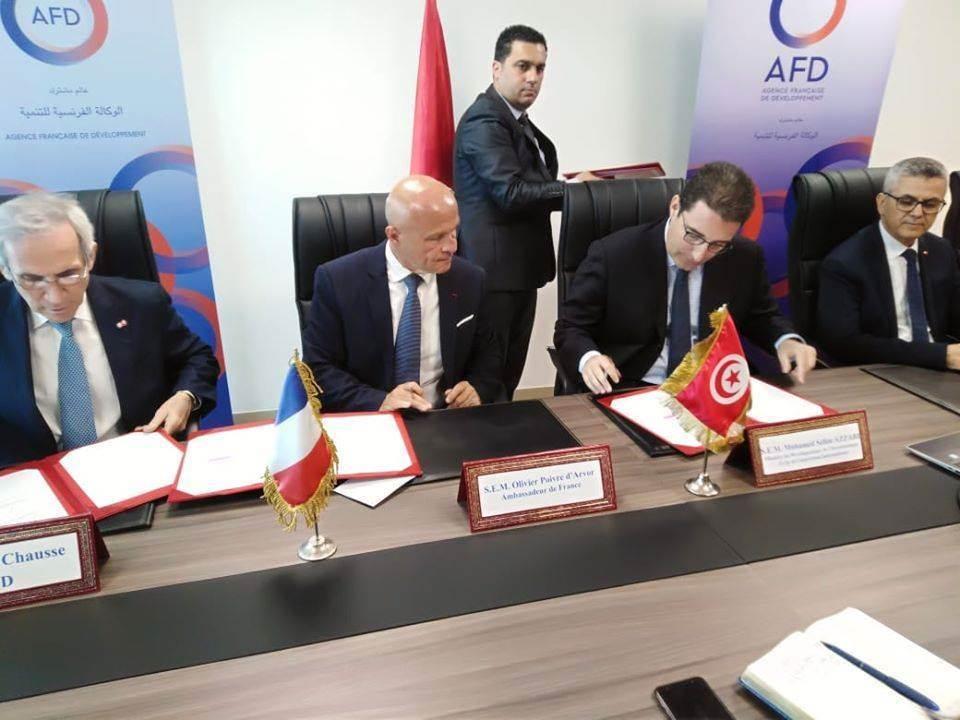توقيع اتفاقية لتحويل الديون الفرنسية إلى مشاريع استثمارية..