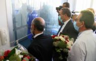 (بالصور) - زيارة وزيري التربية والصحة لتلميذة بكالوريا مقيمة بالمستشفى