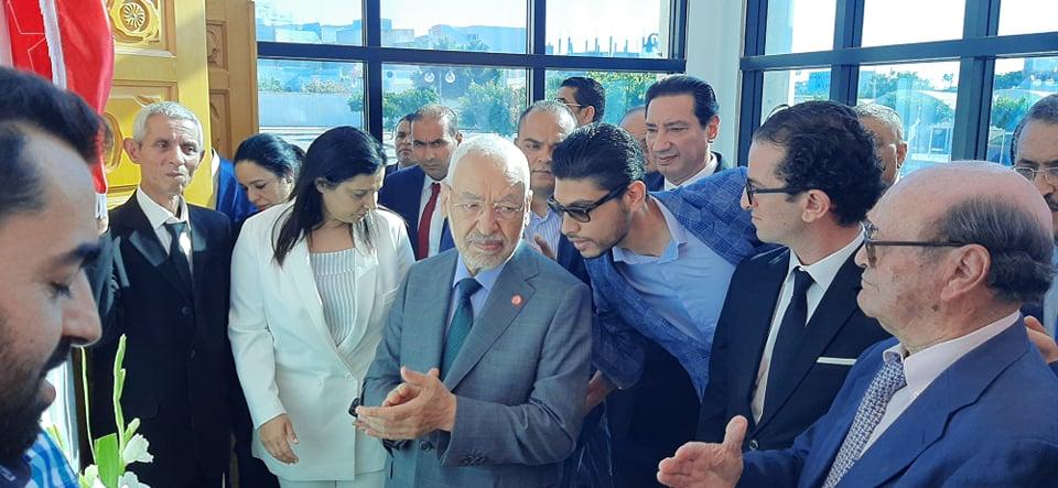 راشد الغنوشي يكشف: الباجي قائد السبسي أنقذ تونس.. وهكذا كان نهجه!!