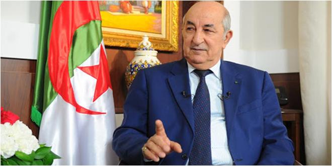 تبون: هناك أطراف تريد أن تقحم القبائل الليبية في حمل السلاح وهذا سيؤدي إلى صوملة ليبيا