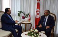 لدعم العلاقات الثنائية: وزراء الدفاع والتجهيز و المالية يستقبلون سفير دولة قطر