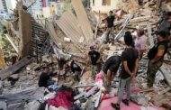 بعد 5 أيام من البحث تحت الركام: الجيش اللبناني يوقف البحث عن ناجين تحت حطام مرفأ بيروت