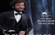مهرجان فينيسيا السينمائي: ''الرجل الذي باع ظهره'' يفوز بجائزتين