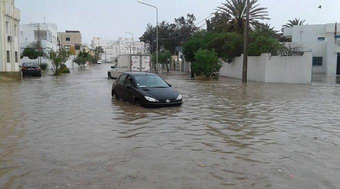 الرصد الجوي ينبه من خطر تشكل السيول و ارتفاع منسوب المياه