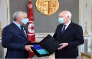 رئيس الجمهورية يستقبل رئيس اللجنة الوطنية لمكافحة الإرهاب