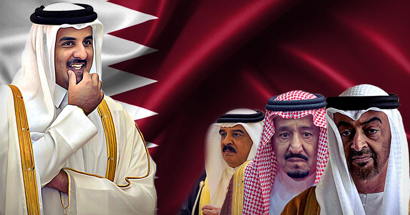 عاجل: الكويت تعلن انتهاء الحصار المفروض على دولة قطر!!