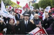 حركة النهضة تؤكد أنّ الهدف من مسيرتها هو التمسك بخيار الديمقراطية.. والتعبير عن هموم التونسيين!!