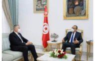 المشيشي يلتقي سفير فرنسا بتونس..