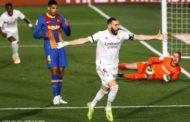 الليغا: ريال مدريد يحسم الكلاسيكو و يقفز للصدارة على أكتاف برشلونة!!