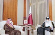أمير دولة قطر يتلقى دعوة من الملك سلمان لزيارة السعودية