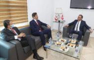 بالصور: المدير العام لشركة أوريدو يحل ضيفا على الجامعة التونسية لكرة القدم