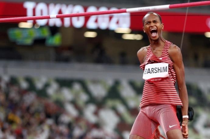 معتز برشم يهدي قطر ثاني ميدالية ذهبية في أولمبياد طوكيو