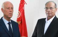 المرزوقي يدعو الى عزل قيس سعيد وتعيين الغنوشي رئيسا للجمهورية!!